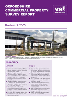 Market Report 2003 cover