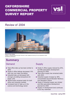 Oxfordshire Commercial Property Review 2004