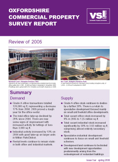Oxfordshire Commercial Property Review 2005