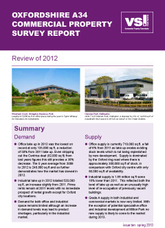 Oxfordshire Commercial Property Review 2012