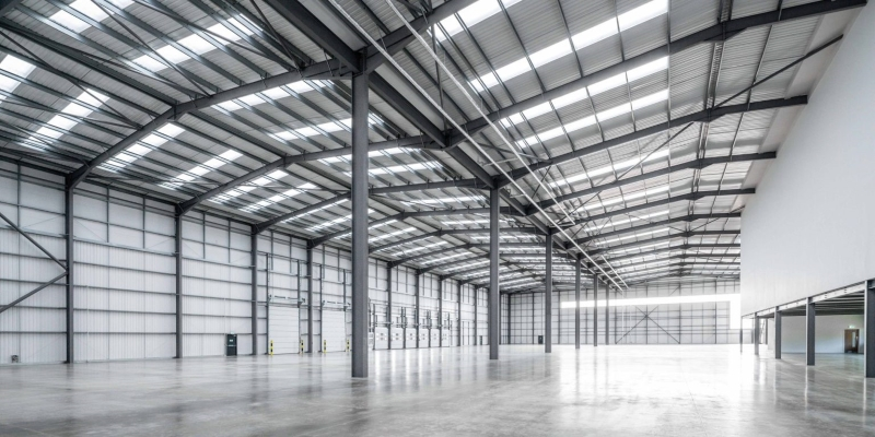 Axis J9 Logistics Hub Bicester - Internal Warehouse